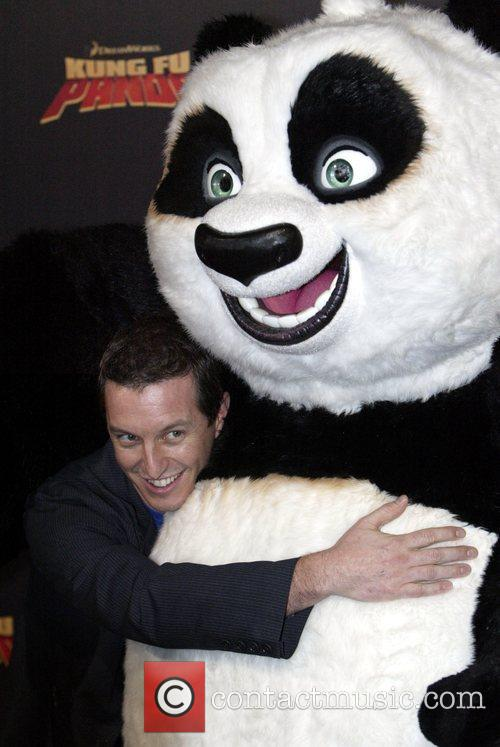 Rove McManus and Po the Panda Premiere of...