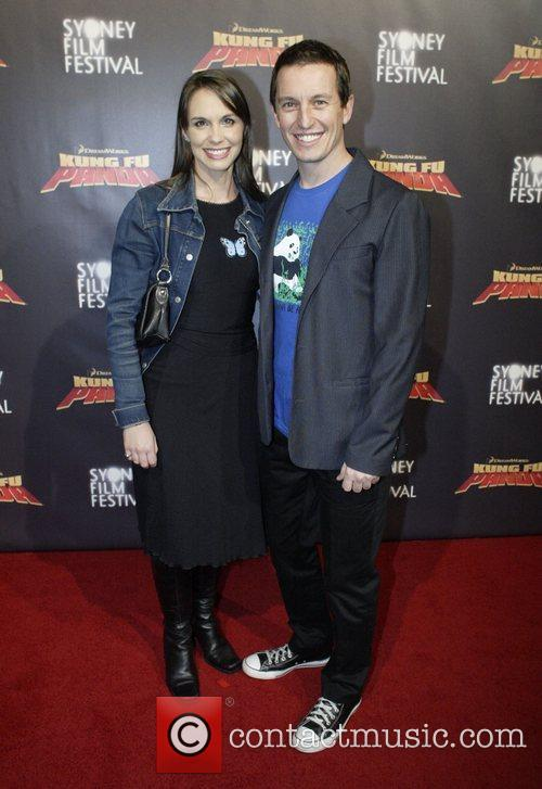 Tasma Walton and Rove McManus Premiere of 'Kung...