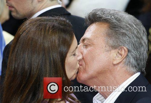 Dustin Hoffman, his wife Lisa Gottsegen