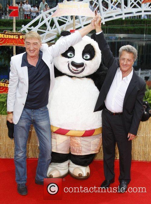 Gottfried John and Dustin Hoffman