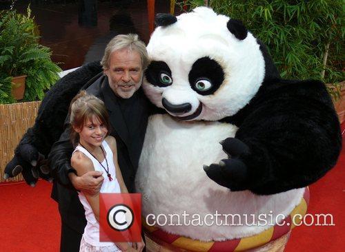 German Premiere of Kung Fu Panda at CineStar...