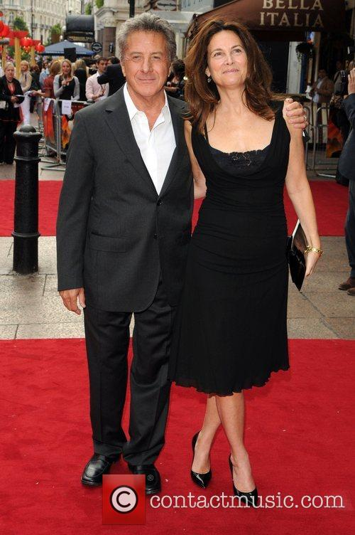 Dustin Hoffman and Guest UK premiere of 'Kung...