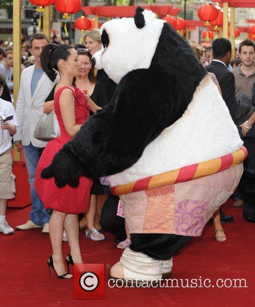 UK premiere of 'Kung Fu Panda' held at...