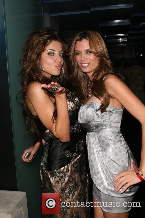 Leyla Milani and Lianna Gretl LA Fashion Corner...