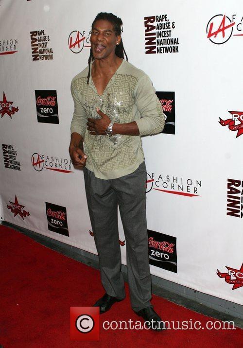William Romeo aka Mayhem LA Fashion Corner 2008...