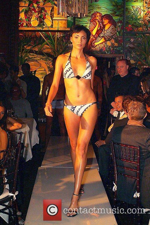 La Perla Swimwear fashion show at the Forge