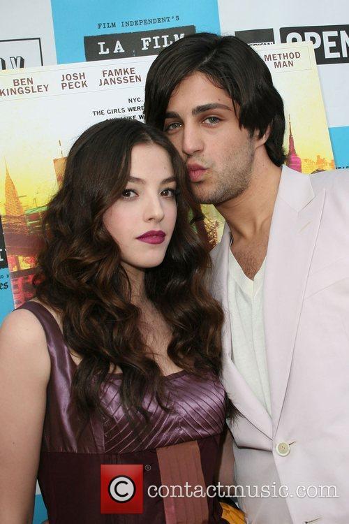 Olivia Thirlby and Josh Peck Los Angeles Film...