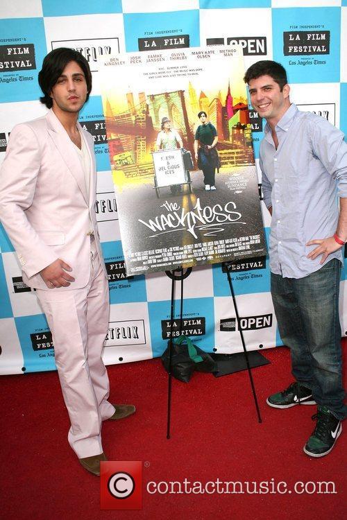 Josh Peck and Jonathan Levine Los Angeles Film...