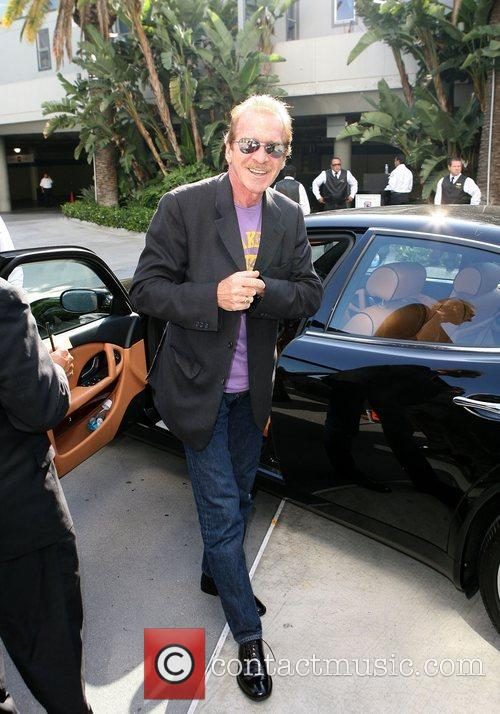 Pat O,Brien Celebrities arriving at the Staples Centre...