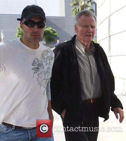 Jon Voight and son James Haven Voight Celebrities...