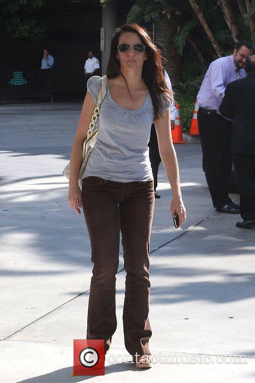 Kristin Davis and Staples Centre 2