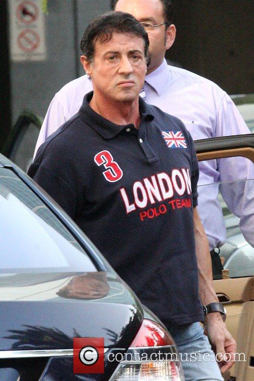 Sylvester Stallone and Staples Centre 1