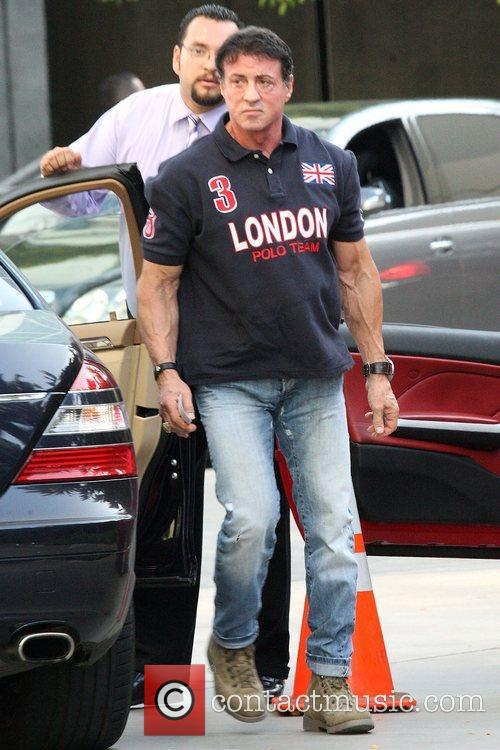 Sylvester Stallone and Staples Centre 2