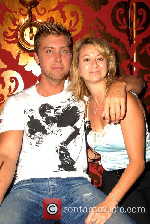 Lance Bass and Friend 1
