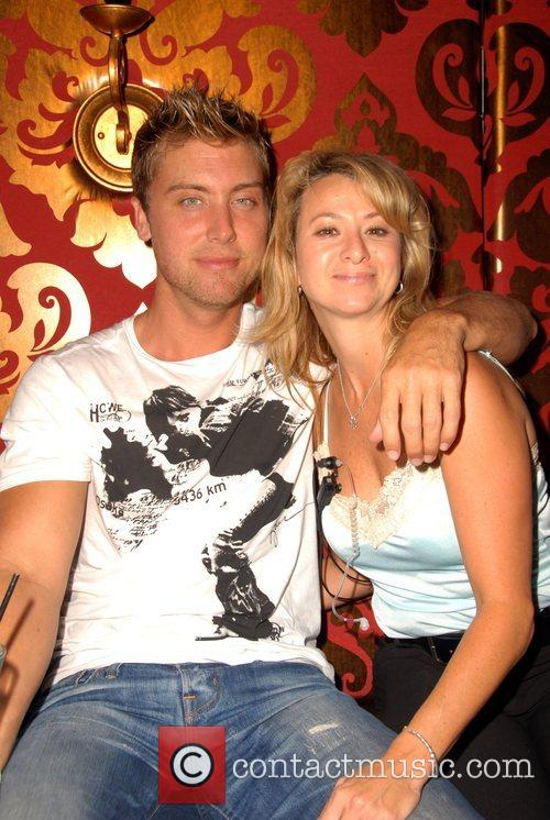 Lance Bass and Friend 2