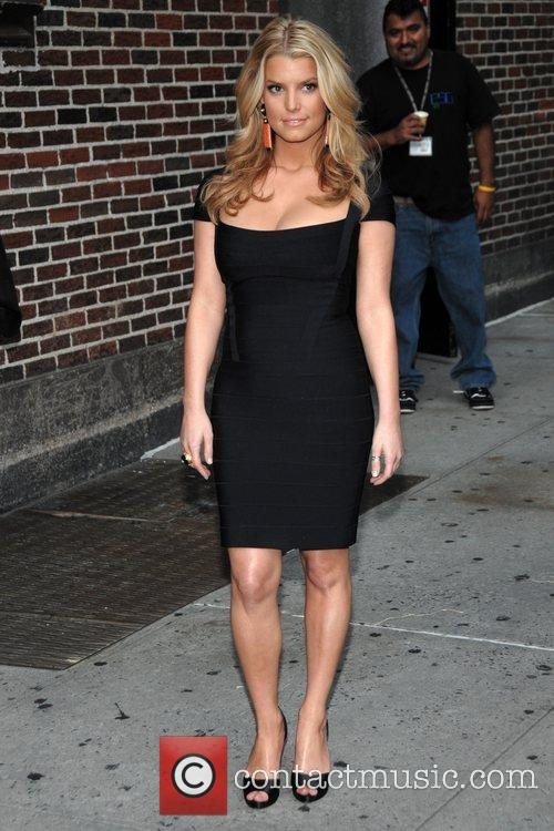 Jessica Simpson and David Letterman 5