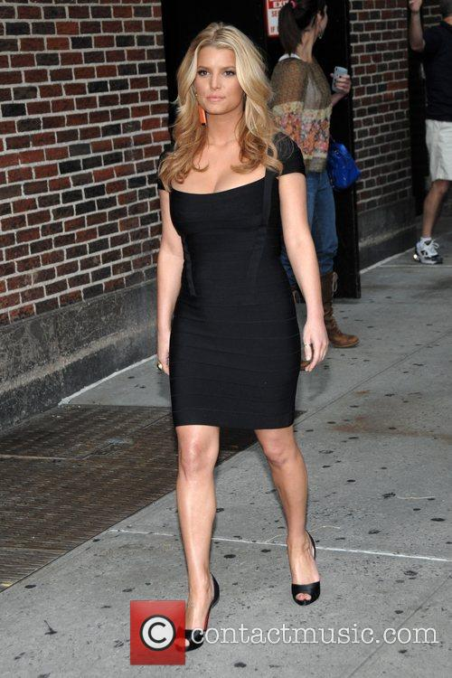 Jessica Simpson and David Letterman 6