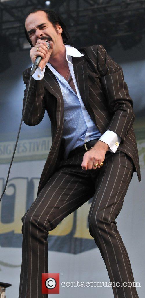 Nick Cave Latitude Festival - Day 3 Suffolk,...
