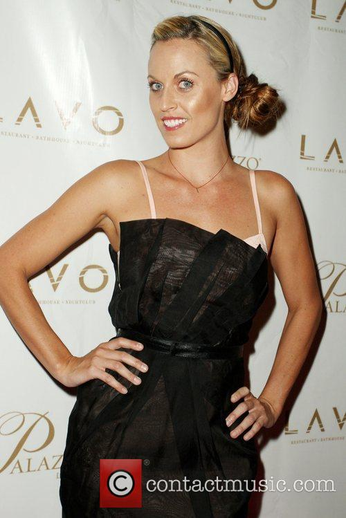Amanda Beard Grand opening of Lavo Restaurant and...