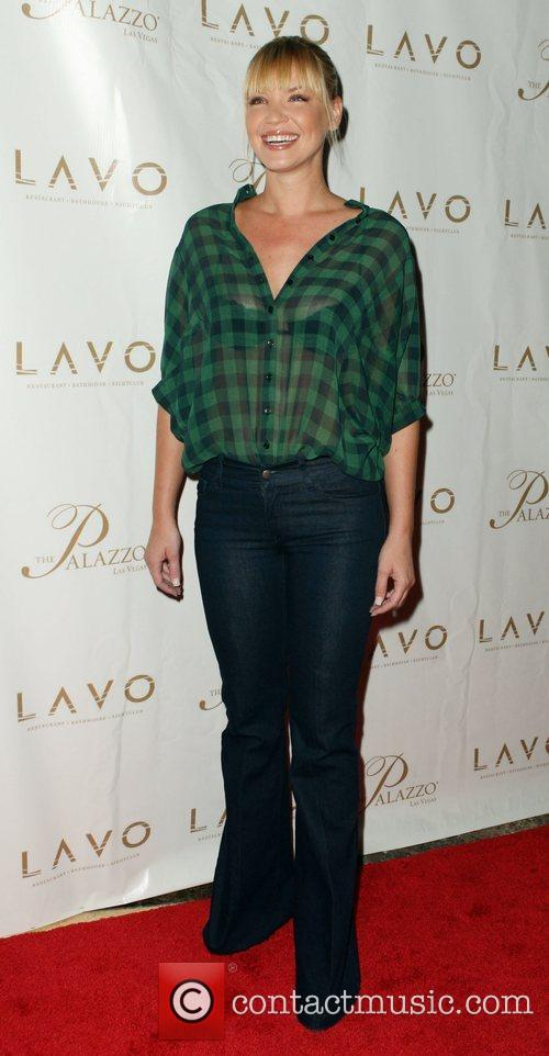 Ashley Scott Grand opening of Lavo Restaurant and...