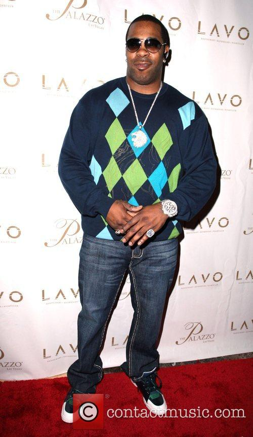 Busta Rhymes Grand opening of Lavo Restaurant and...