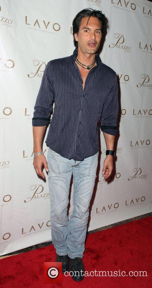 Marcus Schenkenberg Grand opening of Lavo Restaurant and...