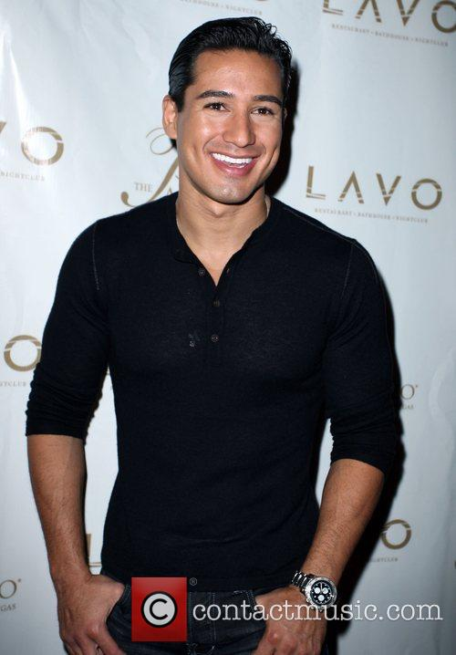 Mario Lopez Grand opening of Lavo Restaurant and...