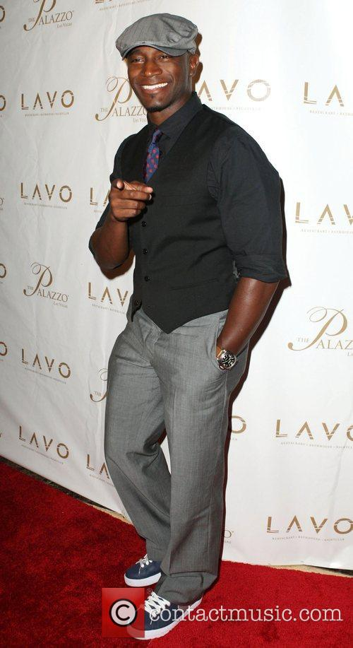 Taye Diggs Grand opening of Lavo Restaurant and...