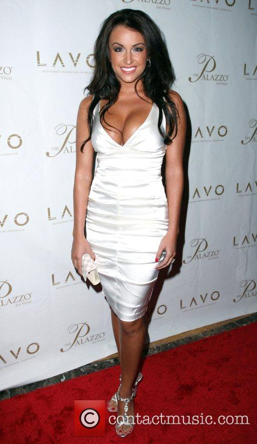 Veronica Grabowski Grand opening of Lavo Restaurant and...