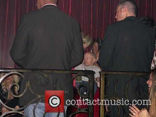 Verne Troyer at LAX nightclub