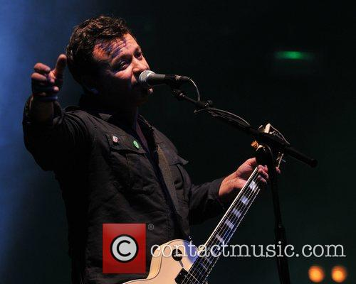 James Dean Bradfield of The Manic Street Preachers...