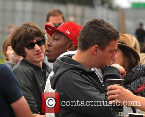 Alex Turner and Dizzee Rascal 6