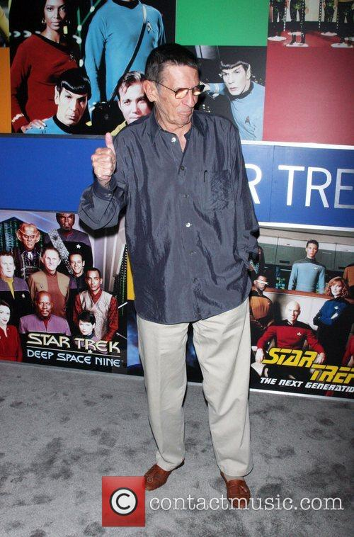 Leonard Nimoy and Star Trek 3