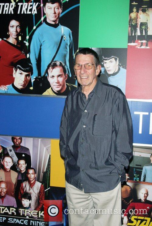 Leonard Nimoy and Star Trek 4