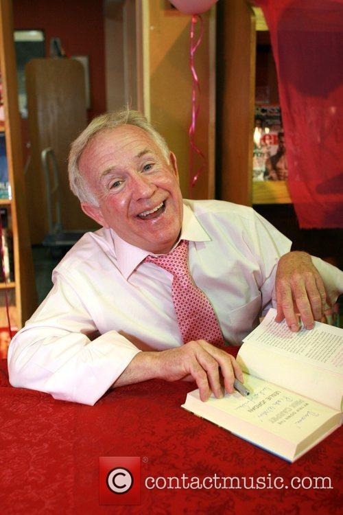 Leslie Jordan signs copies of his book 'My...