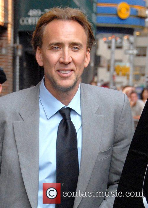 Nicolas Cage and David Letterman 2