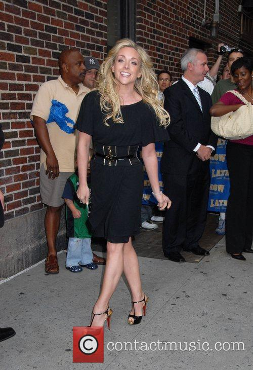 Jane Krakowski and David Letterman 5
