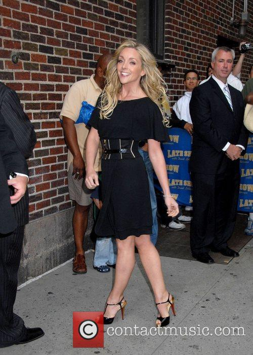 Jane Krakowski and David Letterman 4