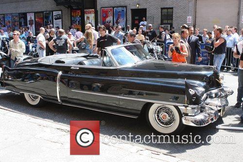 Motley Car and David Letterman 1