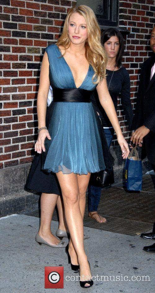 Blake Lively and David Letterman 3