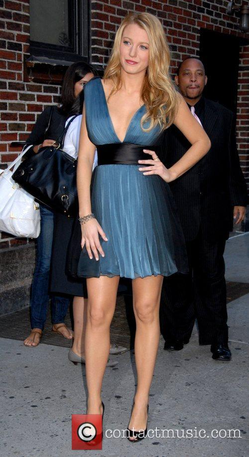 Blake Lively and David Letterman 6