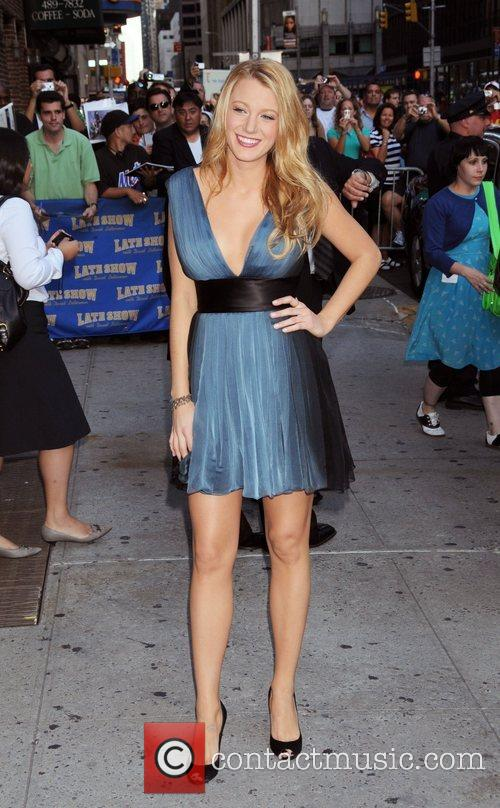 Blake Lively and David Letterman 17