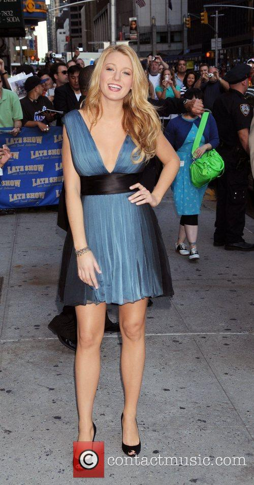 Blake Lively and David Letterman 15