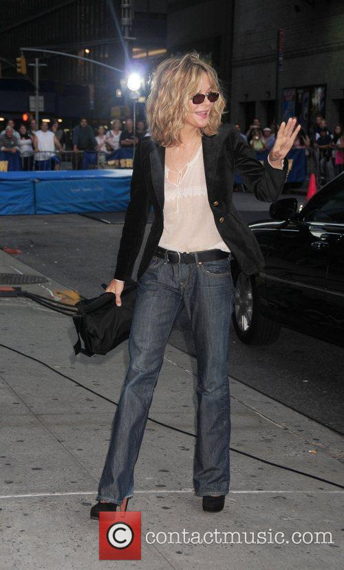Meg Ryan and David Letterman 1