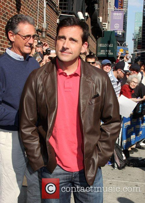 Steve Carell and David Letterman 13