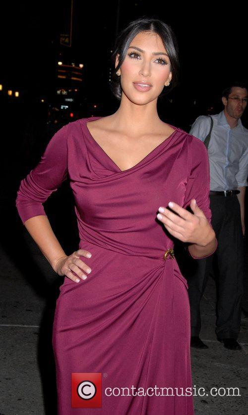 Kim Kardashian, CBS and David Letterman 10