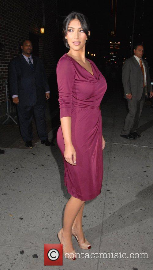Kim Kardashian, CBS and David Letterman 13