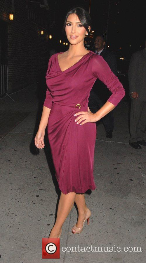 Kim Kardashian, CBS and David Letterman 11