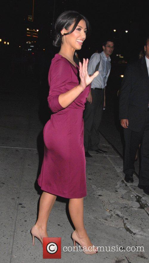 Kim Kardashian, CBS and David Letterman 1