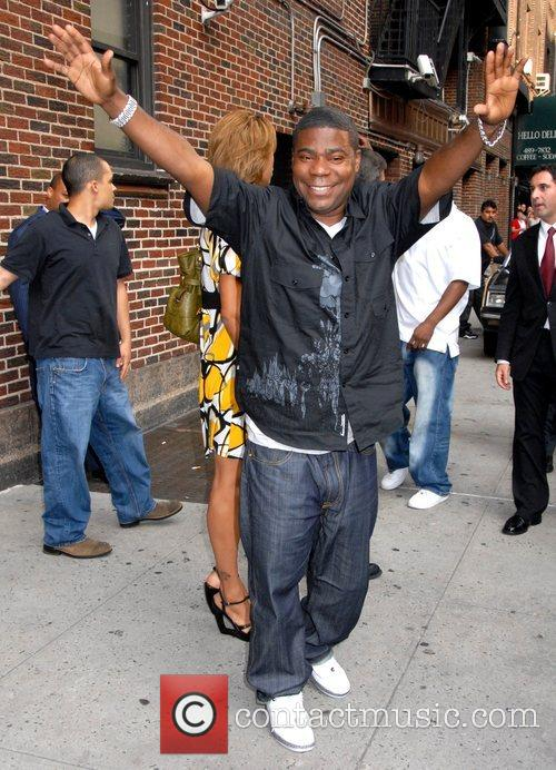 Tracy Morgan, Cbs and David Letterman 1